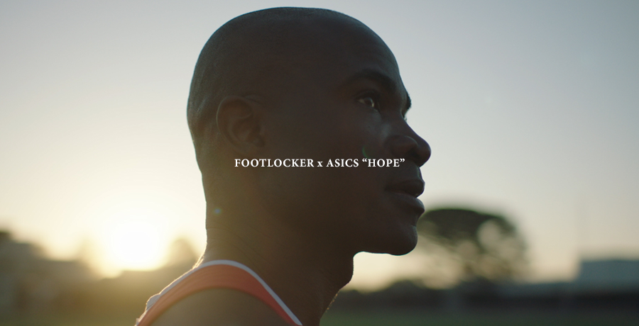 "Footlocker x Asics:  ""HOPE"""